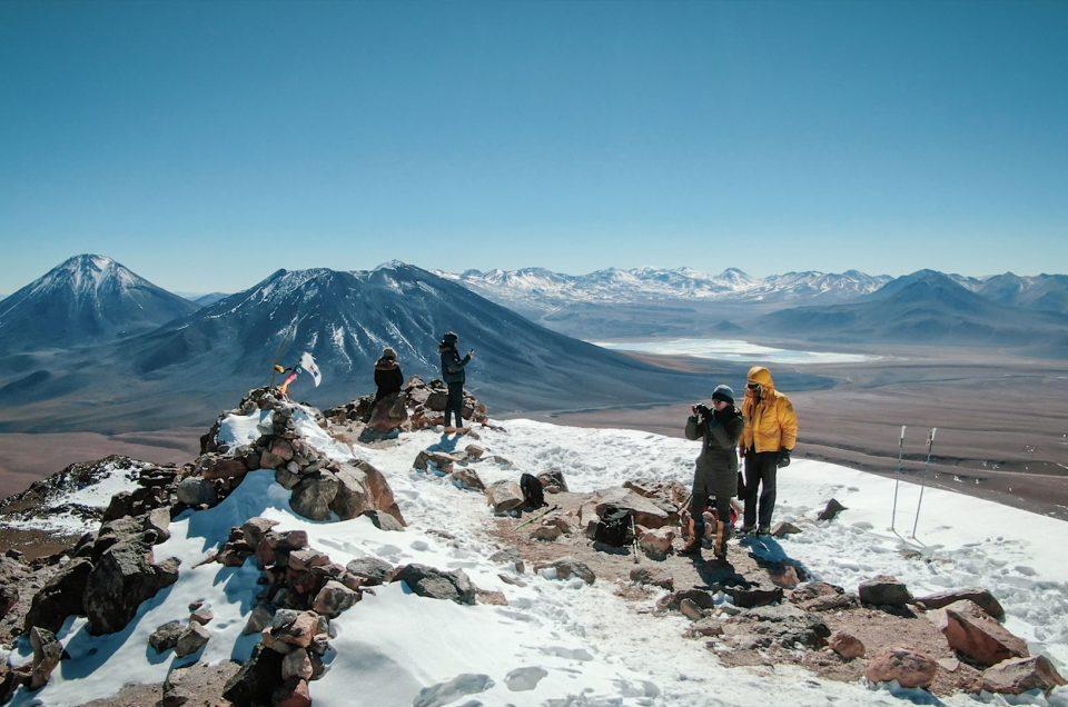 Ascenso al Cerro Toco
